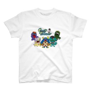 Creepy Treasures! Monster Family T-shirts