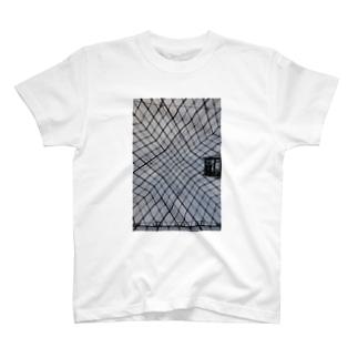 モダン建築 T-shirts