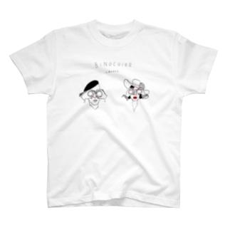 双眼鏡がお好き T-shirts