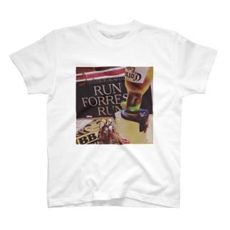 RUN FOREST RUN T-shirts