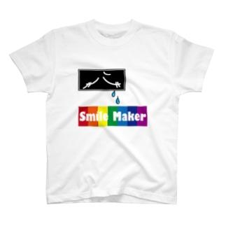 スマイルメーカー T-shirts