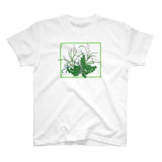 のはらのうたのザ・雑草 T-shirts