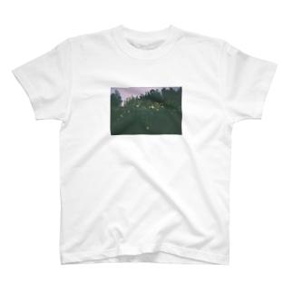 黄色いお花 T-shirts