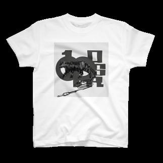 ONE PLUG DISordeRのONE PLUG DISordeR(CAT cable◽︎) T-shirts