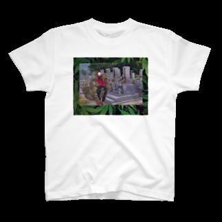 420brrythcの墓地で薬草売るイラン人 T-shirts