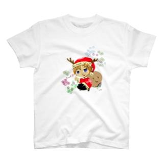 サンタボーイTシャツ T-shirts