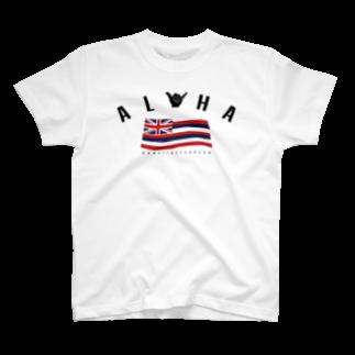 HSC ハワイスタイルクラブのAloha Flag T-shirts