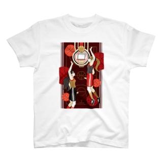 Basketball girls(remake) T-shirts