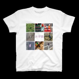 mariboの片手袋Tシャツ(Y) T-shirts