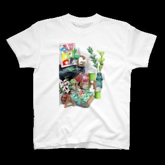 techonのHAGI隠れ T-shirts