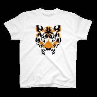 memekurageの虎虎 T-shirts