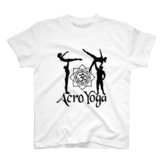 AcroYoga BirdOmStar T-shirts