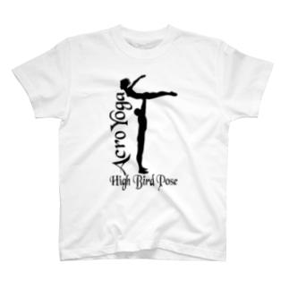 AcroYoga HighBirdPose T-shirts