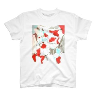 水草の金魚2 T-shirts