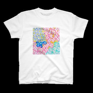 しがないななしSHOPのはなばたけ T-shirts