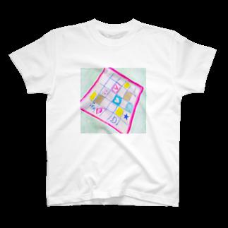 しがないななしSHOPの魔法のハンカチ T-shirts