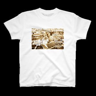 FUCHSGOLDのスペイン:グラナダ旧市街 Spain: Old area of Granada T-shirts