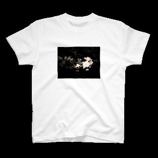 cozcozの夜桜 T-shirts