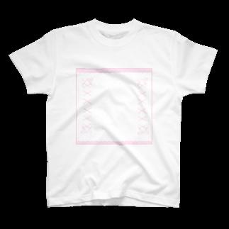 mero46のピンクリボン T-shirts