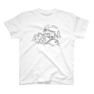 秋晴れの空 T-shirts