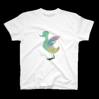 fDESIGNのfm_12_Goose T-shirts