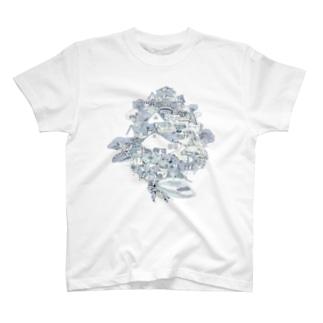 TreeHopper ~ツノゼミの木~ T-shirts