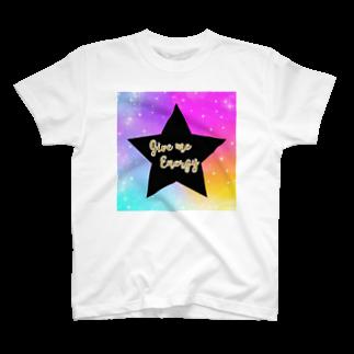 DOLUXCHIC RAYLOのGive me energy Star T-shirts