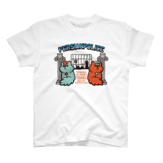 ぺるしゃんぽりす(薄い色用) T-shirts