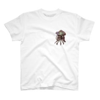 エイリアン通話中 T-shirts
