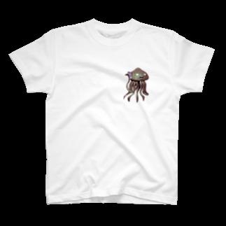No.8のエイリアン通話中 T-shirts