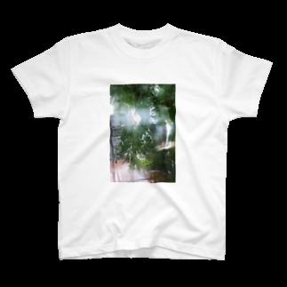 cozcozのrainy day  T-shirts