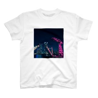 Night harbor T-shirts