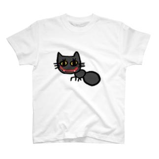 nyakkiのありねこ T-shirts