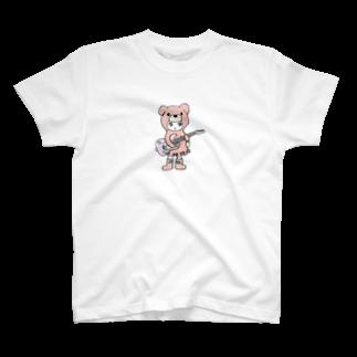 Suzuki Satomi イラストショップのベアミちゃん T-shirts