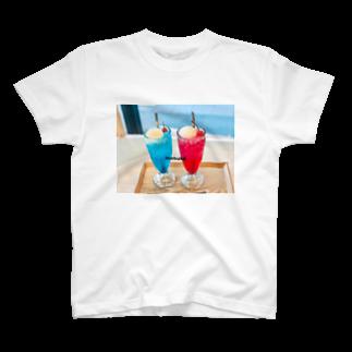 mabukaのクリームソーダ T-shirts