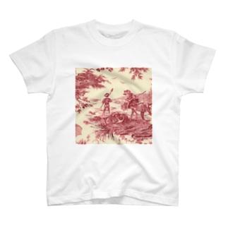 トワルドジュイ Toile de Jouy T-shirts