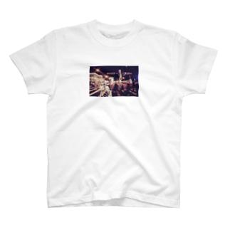 ヒヤサメのストリート_カラー T-shirts