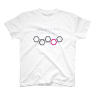 Naughty clown .のhexagon nut 〜想いを寄せて〜 T-shirts