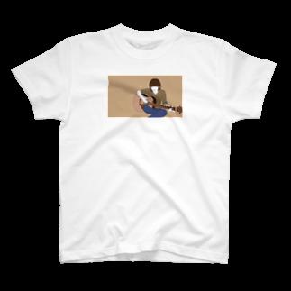 satom15のギターが弾きたい T-shirts