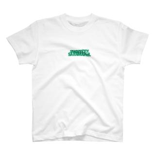 某地方都市Tシャツ緑 T-shirts