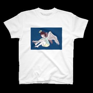 櫛谷久紗/KusyaKUSHIYAの爪切り天使 T-shirts