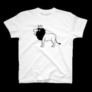 Aliviostaのライオンキング 動物イラスト T-shirts
