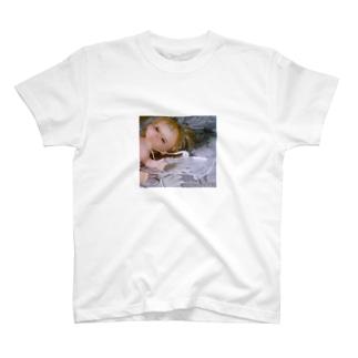(自称)エモエモ店のイヤフォンとメル T-shirts