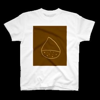 ぱんだろう工房の栗 T-shirts