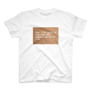 ❤ Your life T-shirts