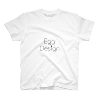 エッグデザインTシャツ T-shirts