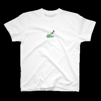 がつのおやすみカエル T-shirts