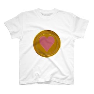 Love coin T-shirts