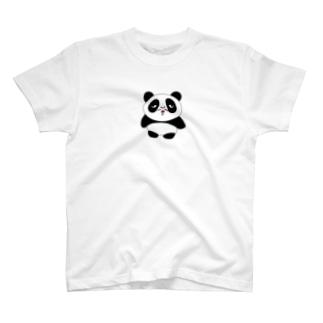 ミッドナイトクラブのおじさんパンダ たぬ吉 T-shirts