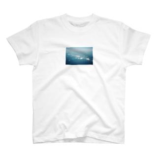 Shogo Hirokiの飛行機からの空 T-shirts